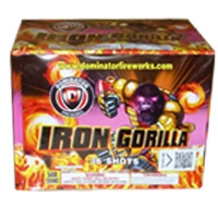 Iron Gorilla Fireworks For Sale - 500g Firework Cakes
