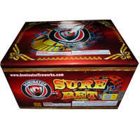 Fireworks - Maximum Load 500g Cakes - Our top selling fire works sold at our on-line store! - Sure Bet