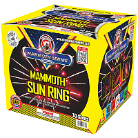 Fireworks - Maximum Load 500g Cakes - Our top selling fire works sold at our on-line store! - Mammoth Ring of Fire