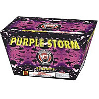 Fireworks - Maximum Load 500g Cakes - Our top selling fire works sold at our on-line store! - Purple Storm