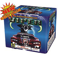 Fireworks - Maximum Load 500g Cakes - Our top selling fire works sold at our on-line store! - Viper
