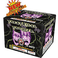 Fireworks - Maximum Load 500g Cakes - Our top selling fire works sold at our on-line store! - Theatrical Thunder