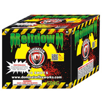 Fireworks - Maximum Load 500g Cakes - Our top selling fire works sold at our on-line store! - Melt Down