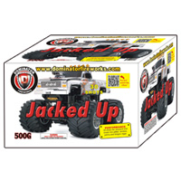 Fireworks - Maximum Load 500g Cakes - Our top selling fire works sold at our on-line store! - Jacked Up!
