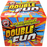 Double the Fun - 500g Fireworks Cake Fireworks For Sale - 500g Firework Cakes
