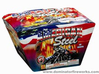 American Steel - 500g Cake Fireworks For Sale - 500g Firework Cakes