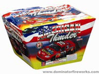 Fireworks - Maximum Load 500g Cakes - Our top selling fire works sold at our on-line store! - American Thunder - 500g Cake