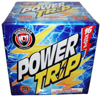 Power Trip - 500g Fireworks Cake Fireworks For Sale - 500g Firework Cakes