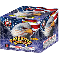 Fireworks - Maximum Load 500g Cakes - Our top selling fire works sold at our on-line store! - Patriotic Dominance - 500g Cake