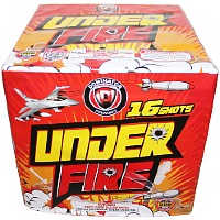 Under Fire - 500g Fireworks Cake Fireworks For Sale - 500g Firework Cakes