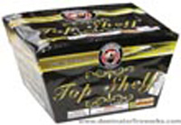 Top Shelf - 16s Fan Cake Fireworks For Sale - 500g Firework Cakes
