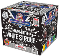 Fireworks - Maximum Load 500g Cakes - Our top selling fire works sold at our on-line store! - Mammoth Strobe