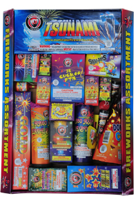 Tsunami Fireworks For Sale - Safe and Sane