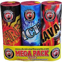 3 Piece Value Pack Fountains Fireworks For Sale - Fountains Fireworks