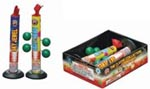 Fireworks - Fountains Fire Works have one or more tubes that spray bright colorful sparks and loud crackle sparks high into the air! - The Classic Collection 7in Fountains