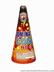 Fireworks - Cones or Cone fountains are a type of Firework that sprays colorful sparks and often loud crackling sparks. - No. 3 Cone Fountain