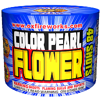 48 Shot Color Pearl Fireworks Cake Fireworks For Sale - 200G Multi-Shot Cake Aerials