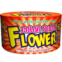 96 Shot Color Pearl Flower Fireworks Cake Fireworks For Sale - 200G Multi-Shot Cake Aerials