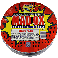 Mad Ox Firecrackers 4,000 Roll Fireworks For Sale - Firecrackers