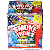 Smoke Trails - 200g Day smoke cake Fireworks For Sale - 200G Multi-Shot Cake Aerials