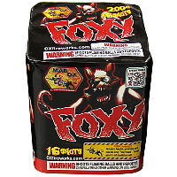 Foxy - 200g Fireworks Cake Fireworks For Sale - 200G Multi-Shot Cake Aerials