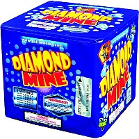 Diamond Mine 200g Cake Fireworks For Sale - 200G Multi-Shot Cake Aerials