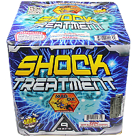 Shock Treatment - 500g Fireworks Cake Fireworks For Sale - 500g Firework Cakes