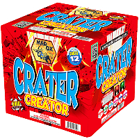 Crater Creator - 500g Fireworks Cake Fireworks For Sale - 500g Firework Cakes