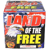 Land of the Free - 500g Fireworks Cake Fireworks For Sale - 500g Firework Cakes