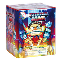 Strong Man Fireworks For Sale - 200G Multi-Shot Cake Aerials