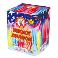 Smoke Dragon Fireworks For Sale - 200G Multi-Shot Cake Aerials