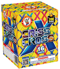 Criss Cross Fireworks For Sale - 200G Multi-Shot Cake Aerials