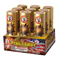 Pyro Candy Fireworks For Sale - 500g Firework Cakes