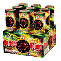 Perfect Round Fireworks For Sale - 500g Firework Cakes