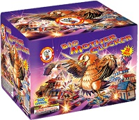 Big Mother Clucker 500g Fireworks Cake Fireworks For Sale - 500g Firework Cakes