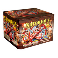 Notorious Fireworks For Sale - 500g Firework Cakes