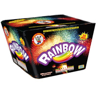 Rainbow Fireworks For Sale - 500g Firework Cakes