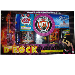 Fireworks - Fireworks Assortments - D Rock