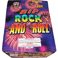Rip Rock and Roll - 500g Cake Fireworks For Sale - 500g Firework Cakes