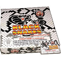 Snakes - black Fireworks For Sale - Snakes Fire work For Sale On-line - The classic favorites! Non-explosive so no min order and lower shipping rates!
