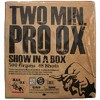 Pro Ox 2 Minute Show Cake - 500g Fireworks Cake Fireworks For Sale - 500g Firework Cakes