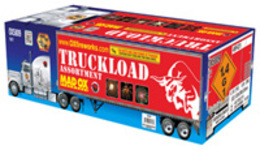 Mad OX Truckload Assortment Fireworks For Sale - 500g Firework Cakes