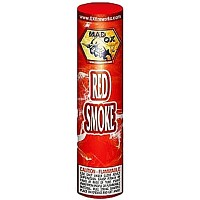 Red Color Smoke Tube Fireworks For Sale - Smoke Items